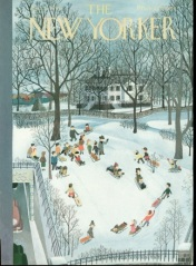 A New Yorker 1948 cover were J.D. Salinger's story was published.